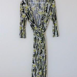 David Meister Wrap Dress